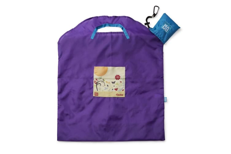 Onya Reusable Shopping Bag Small - Purple Garden