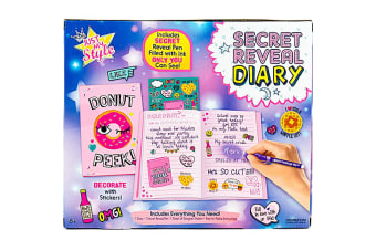 Just My Style Secret Reveal Diary