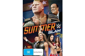 WWE - Summer Slam 2014 (DVD, 2014) Region 4- NEW & SEALED