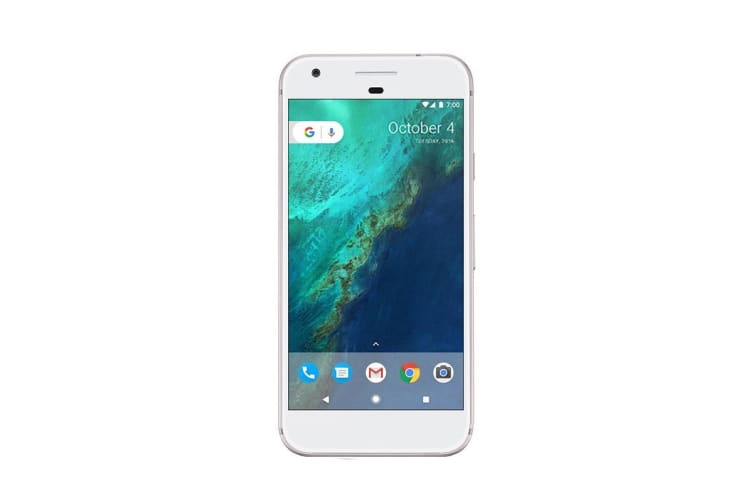 Google Pixel (128GB, Very Silver) - Pre-owned