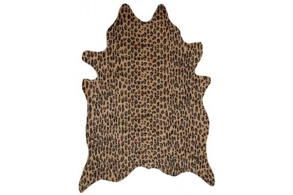 Exquisite Natural Cow Hide Cheetah Print 170x180cm