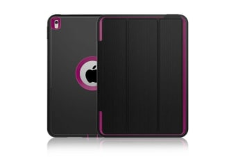 Heavy Duty Shockproof Case Smart Magnetic Cover For iPad Air 2-Rose