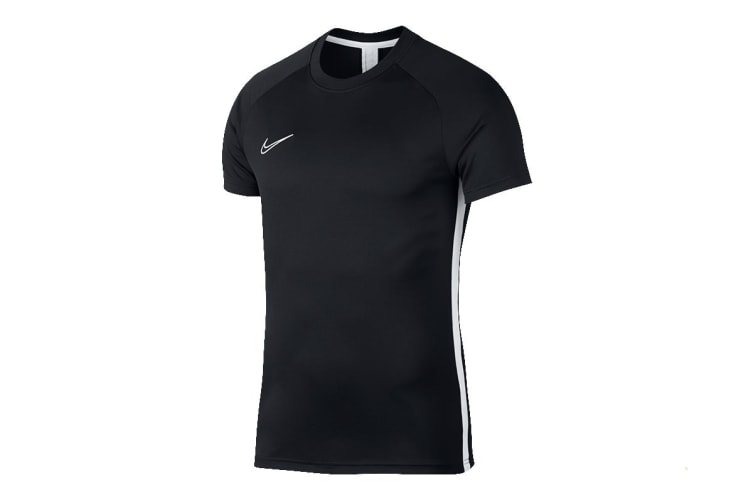 Nike Dry Academy Men's SS Top (Obsidian/White, Size S)
