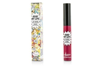 TheBalm Read My Lips (Lip Gloss Infused With Ginseng) - #Hubba Hubba! 6.5ml/0.219oz