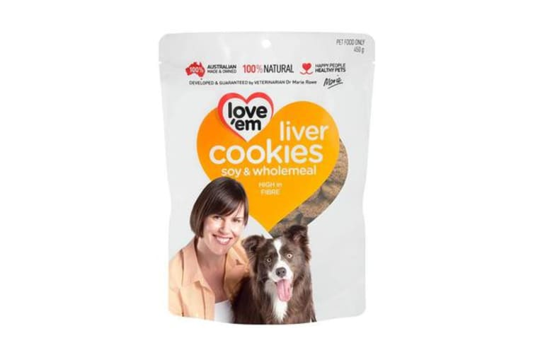 Love'em Liver Cookies Soy & Wholemeal