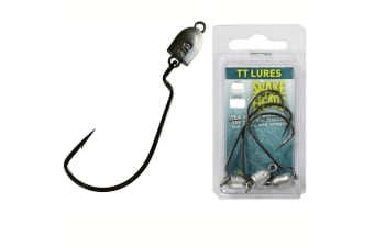 TT Lures Snake Head Jig Heads 1/4 #2/0XH