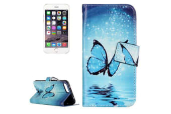 For iPhone 8 PLUS 7 PLUS Wallet Case Elegant Butterfly Protective Leather Cover