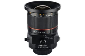 New Samyang T-S 24mm f/3.5 ED AS UMC for Pentax Lens (FREE DELIVERY + 1 YEAR AU WARRANTY)