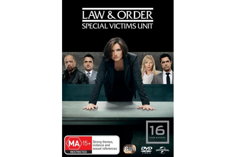 Law and Order Special Victims Unit Season 16 DVD Region 4