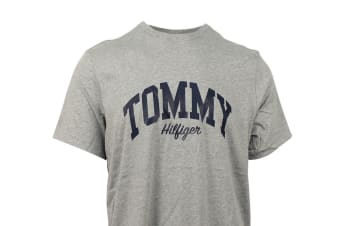 Tommy Hilfiger Men's Graphic Tee (Grey Heather)