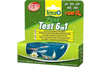 Tetra Pond 6 In 1 Test Strips (May Vary)