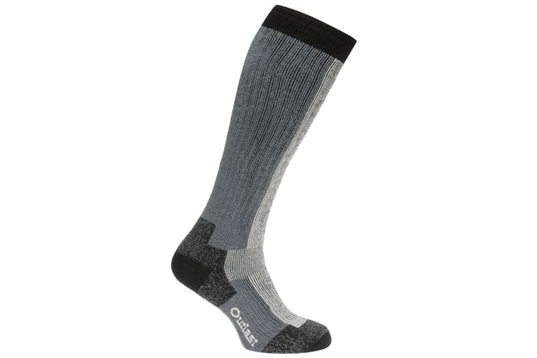 Muck Boots Unisex Authentic Rubber Boot Sock (Grey) (8-12 UK)