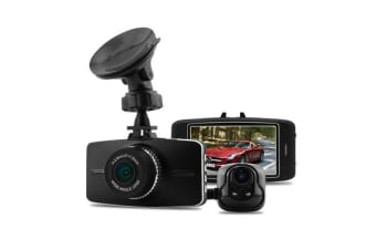 "Full Hd 1296P In Car Front Rear Dvr Crash Camera Recorder Gps 2.7"" Lcd G5Wa"