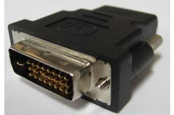 8Ware HDMI to DVI-D Female to Male Adapter