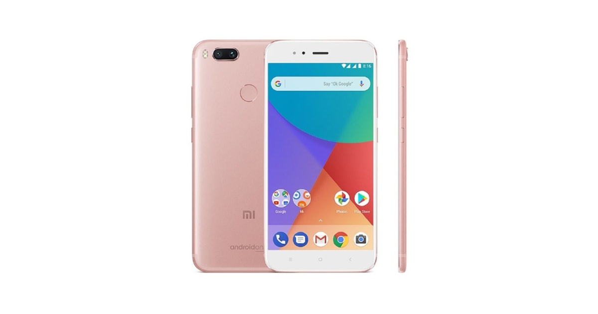 Dick Smith Xiaomi Mi A1 64gb Rose Gold Android Phones