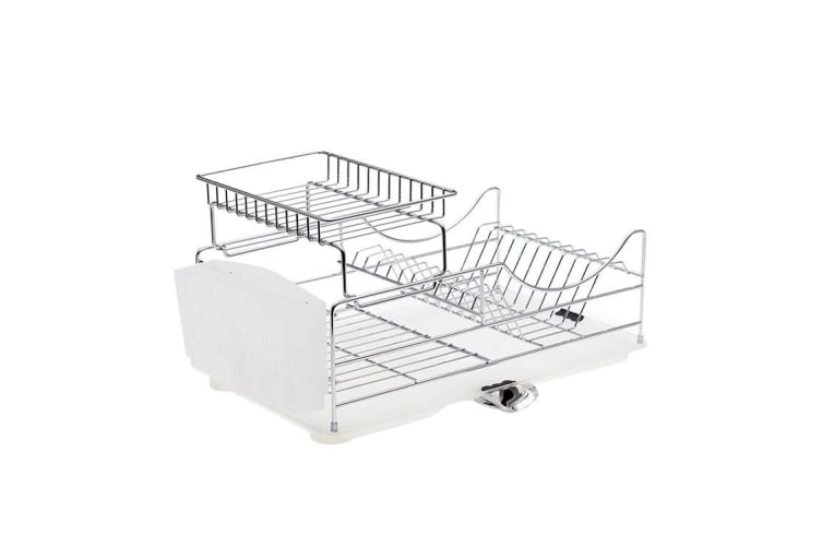 Salt & Pepper Sublime Dish Rack Stackable Chrome