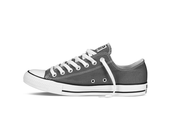 Converse Chuck Taylor All Star Ox Lo (Charcoal, US Mens 4 / US Womens 6)