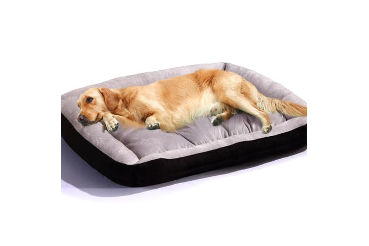 PaWz Heavy Duty Pet Bed Mattress Dog Cat Pad Mat Cushion M/L/XL New  -  BlackXL