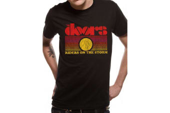 The Doors Adults Unisex Adults Riders T-Shirt (Black)