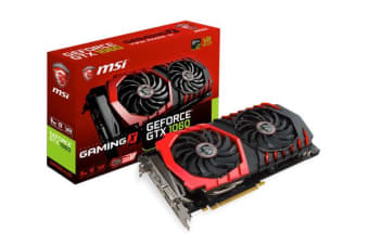 MSI NVIDIA GTX 1060 GAMING X 6GB Video Card - GDDR5 3xDP/HDMI/DVI VR Ready 1506/1809MHz