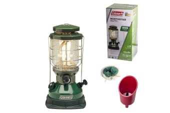 COLEMAN DUAL FUEL LANTERN CAMPING CAMP LIGHT LAMP OUTDOOR FISHING UNLEADED NEW