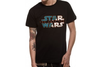 Star Wars Adults Unisex Adults Two Toned Logo Design T-Shirt (Black) (S)