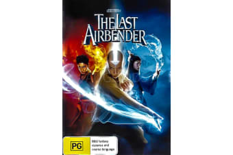 THE LAST AIRBENDER - Region 4 Rare- Aus Stock DVD PREOWNED: DISC LIKE NEW
