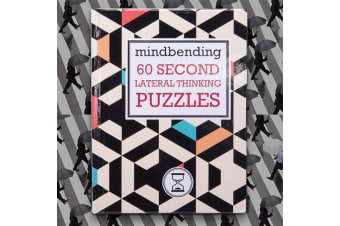 Mindbending 60 Second Lateral Thinking Puzzles | game book