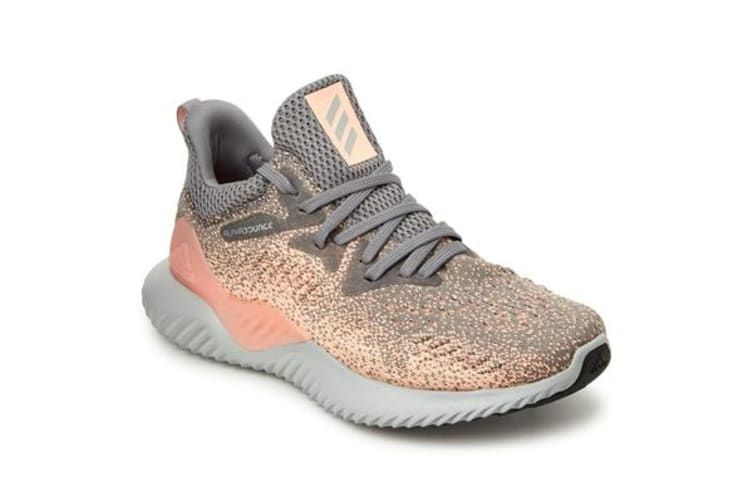 Adidas Kid's Alphabounce Beyond Shoes (Grey three/grey two/real magenta, Size 4 US)