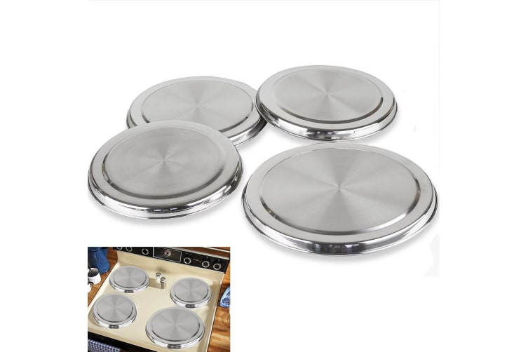 D.LINE Stainless Steel Stove Top Covers - Kitchen Cook to Burner  Round Cover