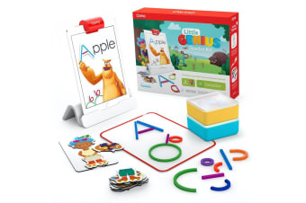 Osmo Little Genius Starter Kit 4 Games/Educational for Apple iPad Kids/Children