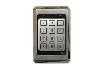 Leviton LEVITON ACCESS CONTROL KEYPAD STAINLESS STEEL, WEATHER & VANDAL PROOF