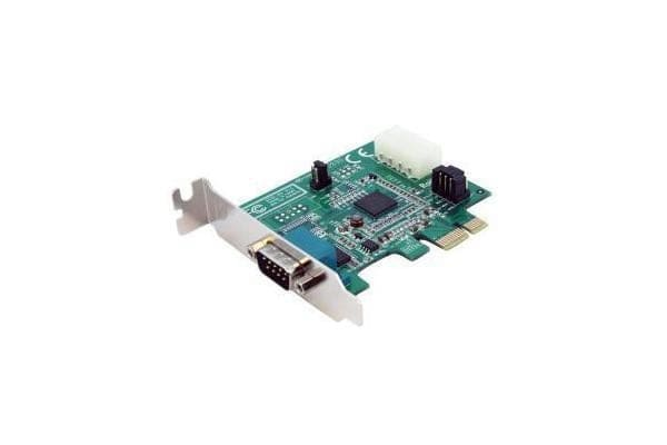 STARTECH 1 Port Low Profile Native PCI Express RS232 Serial Card with 16950 UART - PCIe Serial Card - 1 Port LP RS232 Card