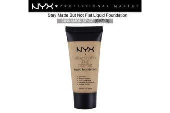 Nyx Stay Matte Not Flat Liquid Foundation #Smf13 Cinnamon Spice Medium Dark Tone