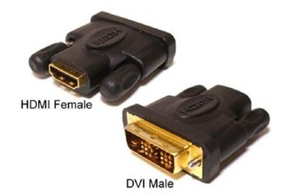 Hypertec HDMI Female to DVI Male Adapter
