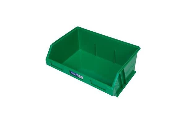 Fischer Plastic Large Parts Drawer Green