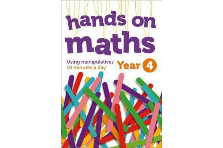 Year 4 Hands-on maths - 10 Minutes of Concrete Manipulatives a Day for Maths Mastery