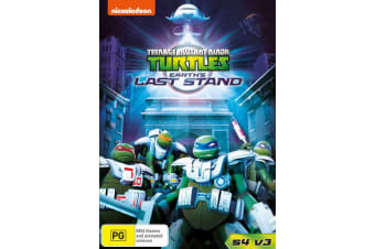 Teenage Mutant Ninja Turtles Earths Last Stand Season 4 DVD Region 4