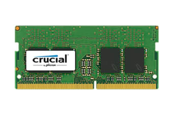 Crucial 16GB DDR4 2400 MT/s (PC4-19200) CL17 DR x8 Unbuffered SODIMM 260pin