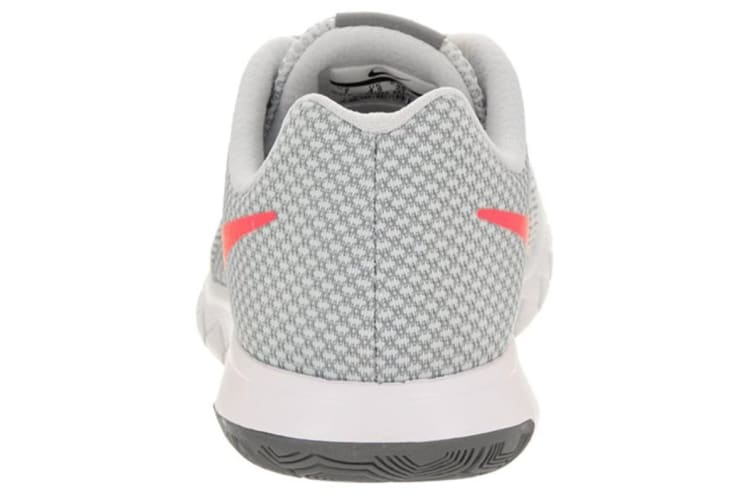 Nike Women's Flex Experience RN 6 Running Shoe (Wolf Grey/Hot Punch/Platinum, Size 7.5 US)
