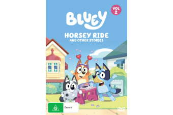 Bluey Volume 2 Horsey Ride and Other Stories DVD Region 4