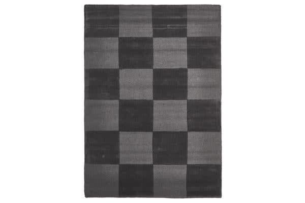 Wool Hand Tufted Rug - Box Pewter - 320x230cm