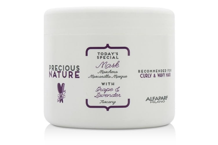 AlfaParf Precious Nature Today's Special Mask (For Curly & Wavy Hair) 500ml