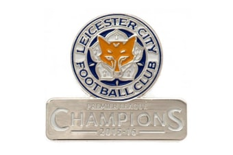 Leicester City FC Champions Badge (Multi Coloured) (One Size)