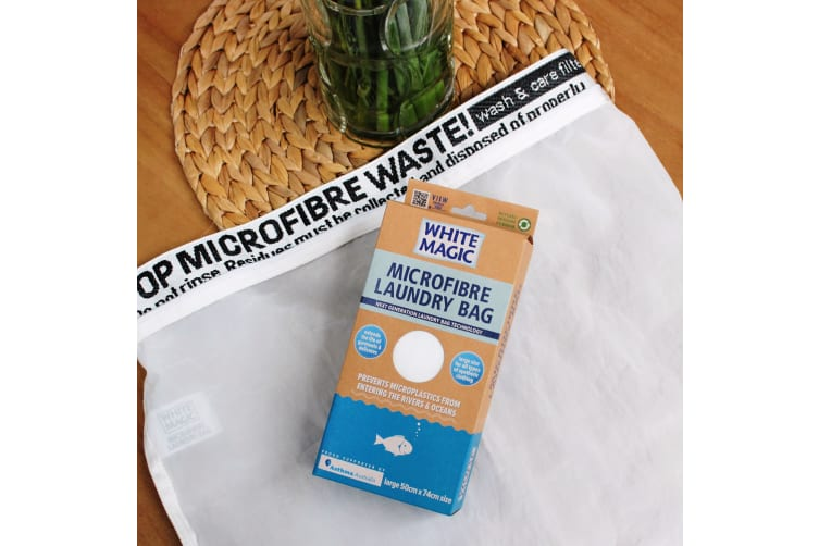 White Magic Microfibre Laundry Bag 50 X 74cm
