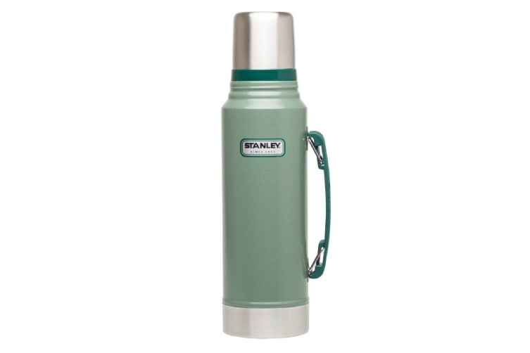Stanley 1 Litre Classic Vacuum Bottle Green Or Blue-green