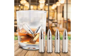 Whiskey Bullets | Bullet-shaped Stainless Steel Drinks Chillers!