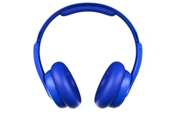 Skullcandy Cassette Durable Wireless Headphones - Cobalt Blue - Up to 22 hours of battery life with