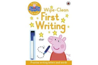 Peppa Pig - Practise with Peppa: Wipe-Clean First Writing