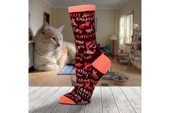 Socks For Crazy Cat Ladies - Caaaaats!!!